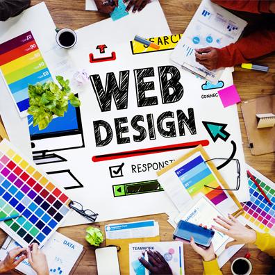 Wir entwerfen das Aussehen Ihres Webauftritts
