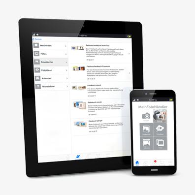 Die Mein FotoHändler-App für Android und iOS von mazzapps
