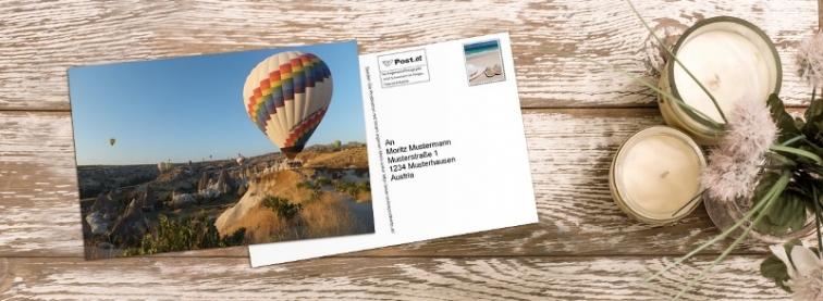 Onlinepostkarte.at - Online Foto-Postkarte gestalten und direkt versenden