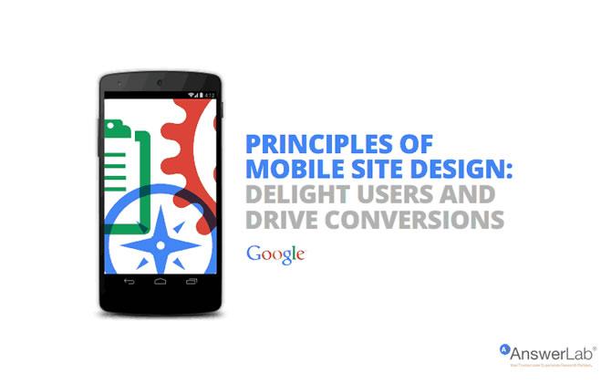 Google Tipps für Mobiles Webdesign, ©Google 2014