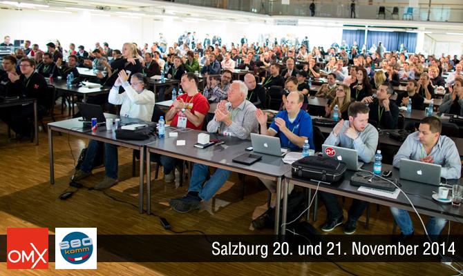 SEOkomm 2014 und OMX 2014 Salzburg