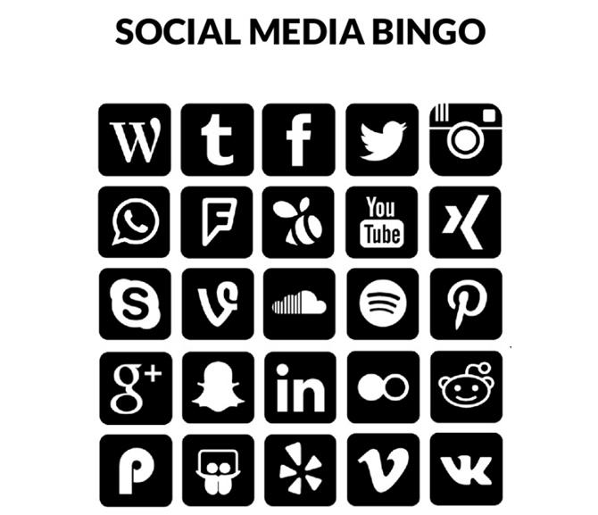 PICS-News - Social Media Bingo