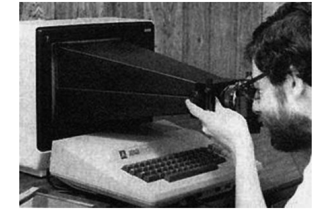Taking a Screenshot 1983 via Reddit