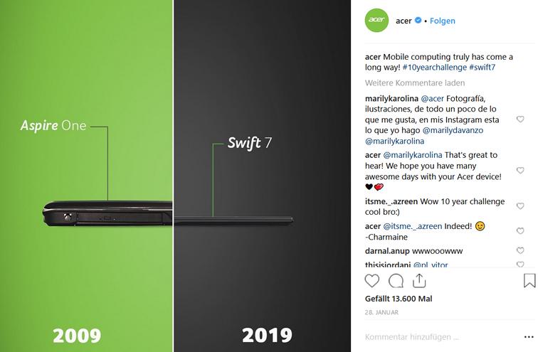 PICS Blog - Contentideen für März - Instagram Challenge