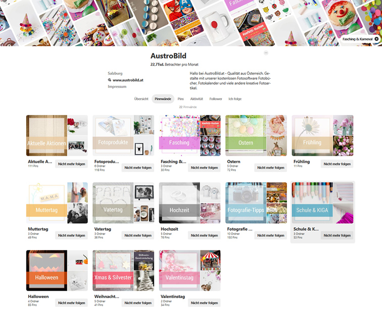 Screenshot-Pinterest-Account-AustroBild-nach-Board-Cover