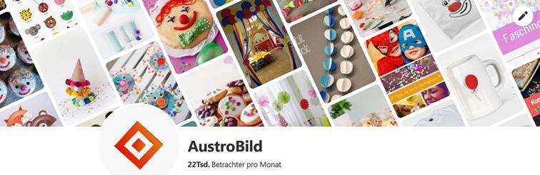 Der AustroBild-Account auf Pinterest