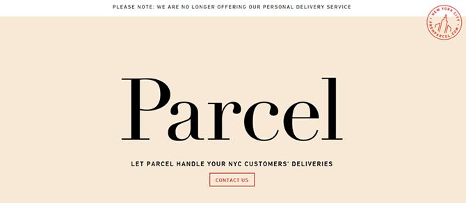 Website Parcel