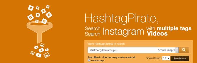 Instagram Suche - HashtagPirate
