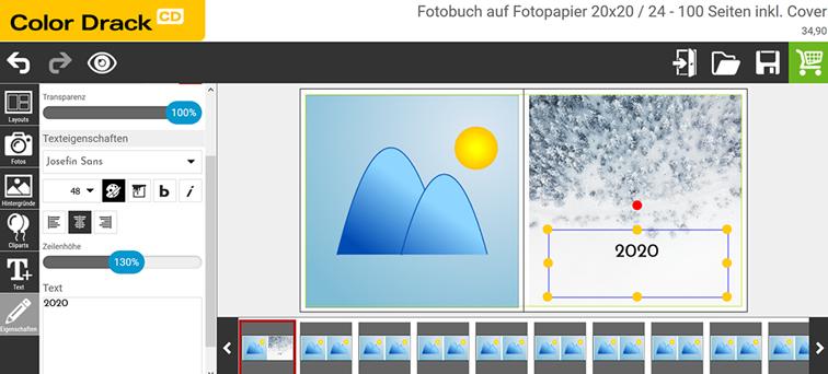 PICS Jahresrückblick - Launch des Online-Editor von Color Drack